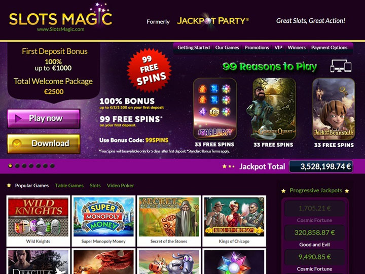 Slots-Magic-Casino-lobby
