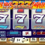 triple flamin 7s