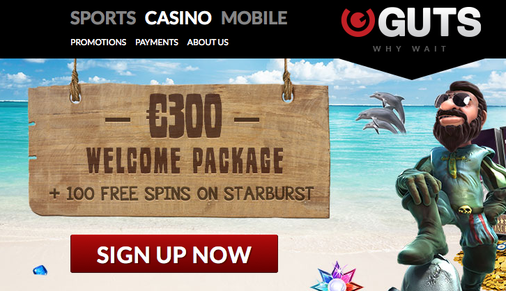 guts casino promo