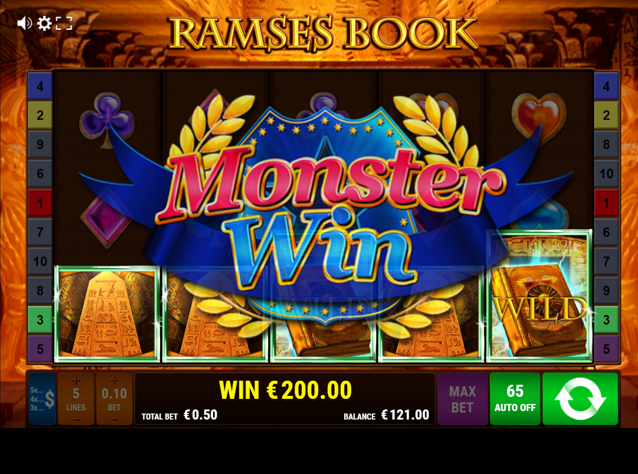 Ramses Book slot big win